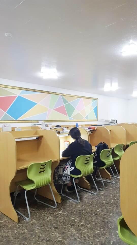 2018 설날 연휴 학습실