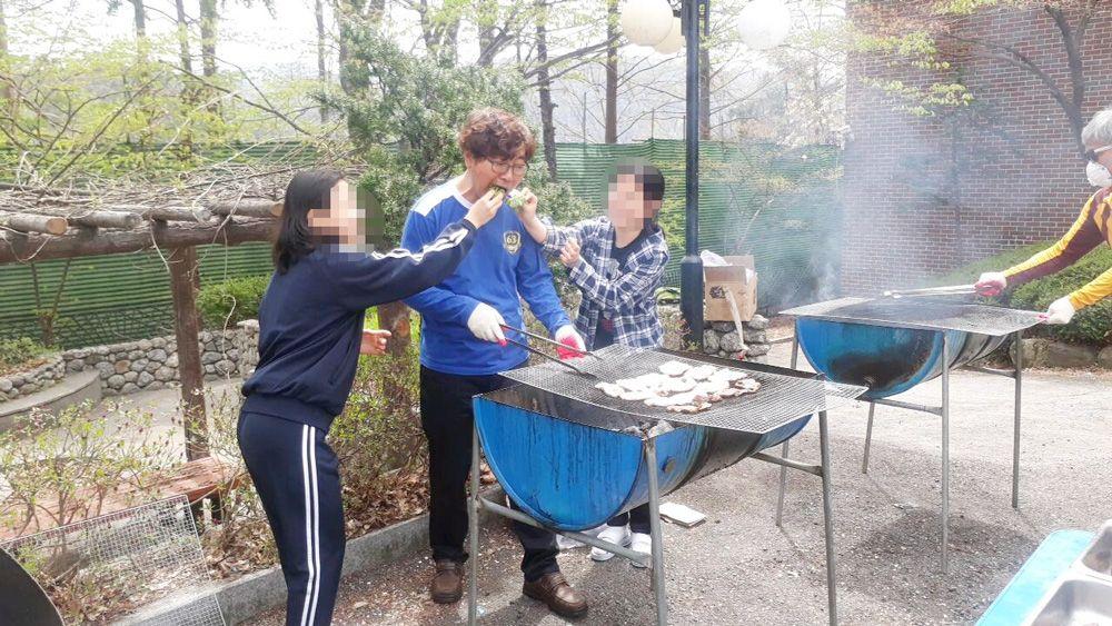 4월 삼겹살 파티 4